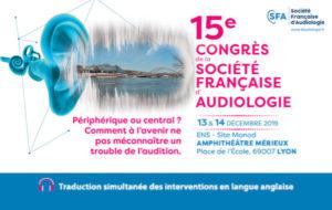 Rappel : le congrès de la SFA, c'est dans un mois !
