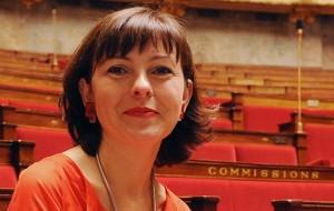Carole Delga, nommée secrétaire d'Etat au commerce, à l'artisanat et à la consommation.