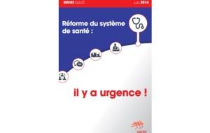 Le Medef plaide en faveur des «réseaux de soins après concertation avec les professionnels concernés.»