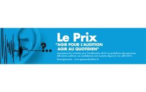 Un délai accordé pour le Prix «Agir au Quotidien d'Agir Pour l'Audition.»