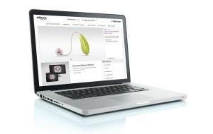 MyOticon : le site d'Oticon uniquement accessible aux professionnels.