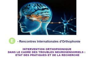 20e rencontres internationales d'orthophonie : un programme 100 % virtuel