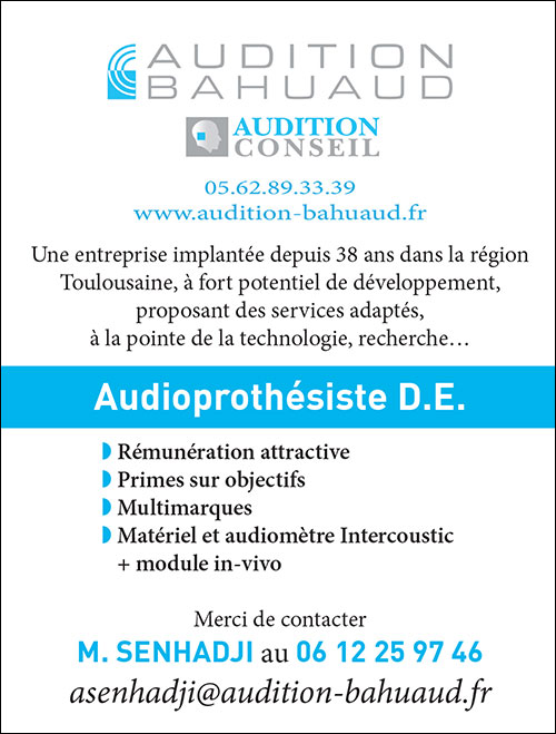 Annonce emploi - Audition Bahuaud