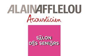 Alain Afflelou Acousticien au Salon des seniors