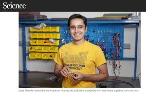Un chercheur invente l'aide auditive DIY à 1 dollar