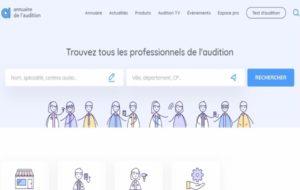 Le nouveau site de l'Annuaire français d'audiophonologie est en ligne