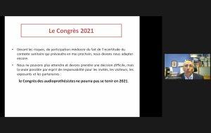 Il n'y aura pas de congrès des audioprothésistes en 2021