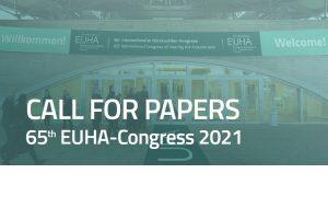 Appel à contributions scientifiques pour l'EUHA 2021