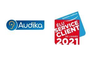 Audika élu Service client de l'année 2021