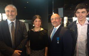 Benoît Roy, fondateur d'Audilab, nommé Chevalier dans l'Ordre national du mérite
