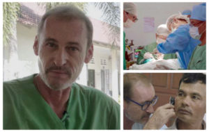 La Fondation Audika accompagne Philippe Leconte dans sa 7e mission au Cambodge