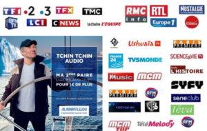 L'offre Tchin Tchin Audio d'Afflelou sera sur les écrans et sur les ondes jusque fin juillet