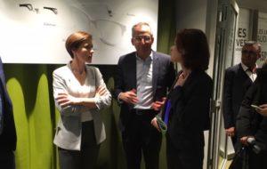 100 % santé : la secrétaire d'Etat Christelle Dubos loue la réforme dans un centre Acuitis