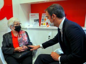 Olivier Véran communique sur la réussite du 100 % santé en audio