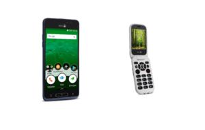 Doro lance 2 nouveaux téléphones mobiles dédiés aux seniors