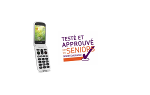 Le mobile Doro 8031 obtient le label « Testé et approuvé par les seniors »