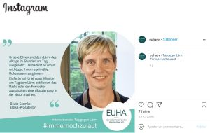 L'EUHA est sur Insta