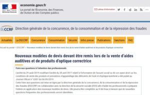 La DGCCRF met en ligne une FAQ sur le devis normalisé