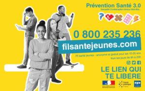 Information coronavirus Fil Santé Jeunes accessible