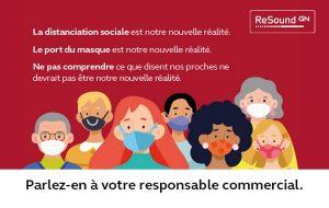 Masques: GN propose un kit de communication et un guide d'adaptation dédiés