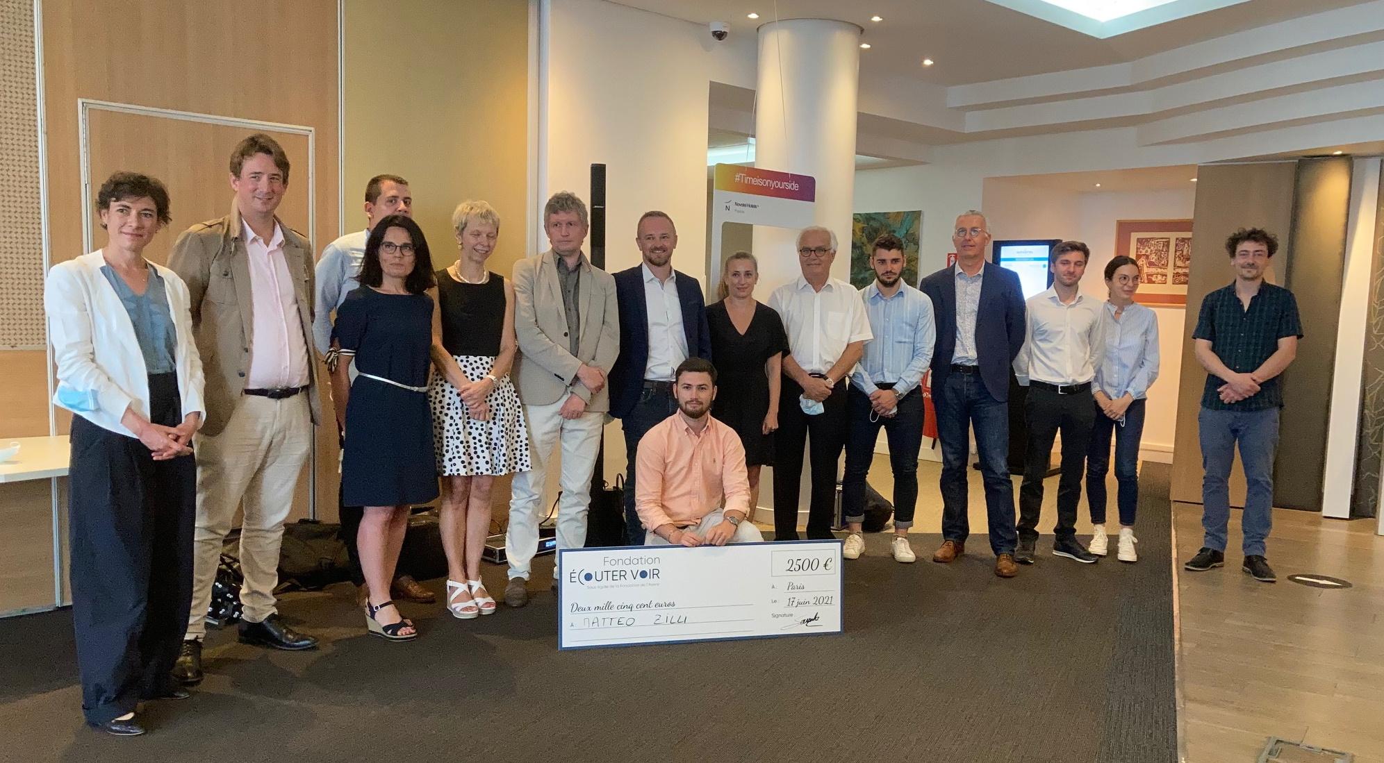 Grand Prix 2021 Fondation Ecouter Voir