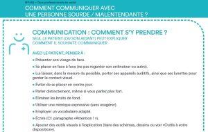 Handiconnect.fr publie des conseils sur le handicap auditif à destination des professionnels de santé