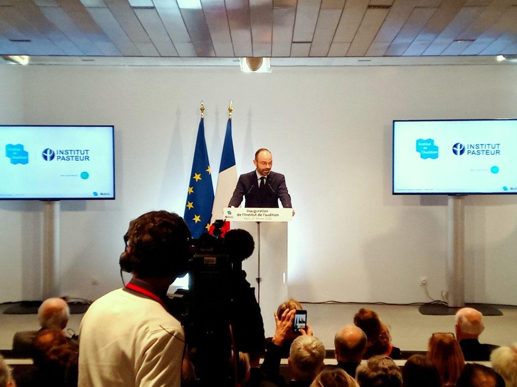 Inauguration IDA Edouard Philippe
