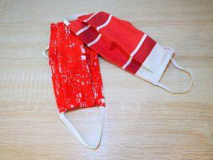 Masques barrière en tissu