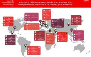 Une étude mondiale Med-El sur l'attention portée à la santé auditive