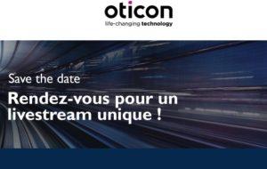 Oticon annonce un livestream en direct du Studio Gabriel pour jeudi 3 décembre