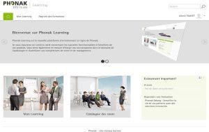 Phonak: une nouvelle plateforme de formation en ligne