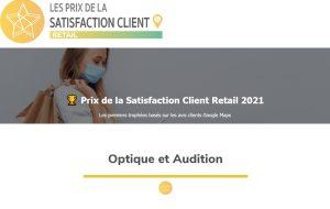 2 enseignes d'audition sur le podium des 1ers Prix de la satisfaction Client Retail