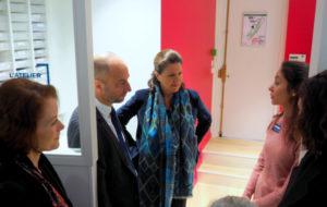 Agnès Buzyn met en valeur le 100 % santé au cours d'une matinée de rencontres