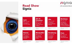 Signia annonce son prochain roadshow en partenariat avec Med-El