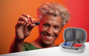 Signia lance ses intras rechargeables, sur-mesure et connectés : Insio Charge&Go AX
