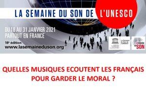 Pour près de 8 Français sur 10 la musique aide à mieux supporter les confinements (sondage Semaine du Son)