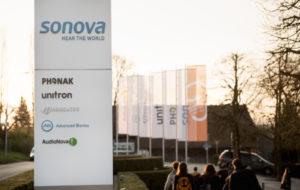 Sonova annonce un chiffre d'affaires en progression sur les aides auditives et les implants