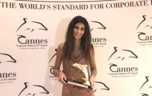 Sonova primé à Cannes pour son film d'entreprise consacré à Sophie Vouzelaud
