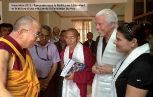 Starkey Hearing Technologies reçoit le Dalaï Lama le 23 juin