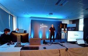 En direct de son siège, l'équipe Starkey France détaille les dernières avancées de Livio Edge AI