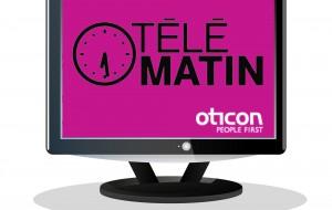 Vidéo. Oticon ConnectLine à Télématin