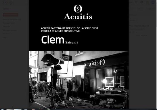 7a5f931f86a129 Acuitis Et Ses Bloggeuses Luxsure Fashion Magazine. Acuitis partenaire  officiel de la série télévisée Clem