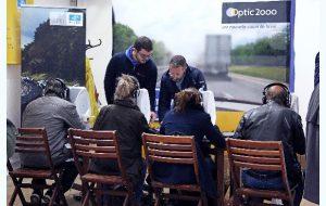Le village Prévention Optic 2000 démarre son périple avec le Tour Auto