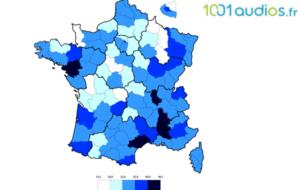 1001audios.fr met en image le maillage territorial des centres auditifs