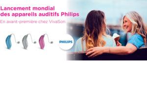 VivaSon annonce une avant-première Philips dans son réseau
