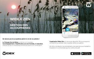 Acouphènes : Widex lance une nouvelle version de sa Zen Thérapie et une appli