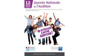 Journée nationale de l'audition : ce sera le 12 mars 2015 !