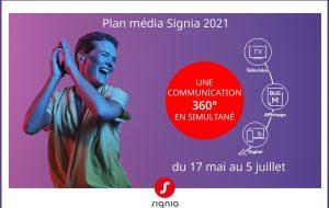 7 semaines de présence sur 3 médias : Signia annonce une campagne massive