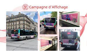 La 1ère vague de la campagne bus et métro de Signia a généré plus de 160 millions de contacts