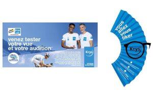 Krys Audition dévoile les détails de son partenariat avec le Tour de France
